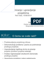 Prezentacija_Planiranje i Upravljanje Projektima_25.02.2013.