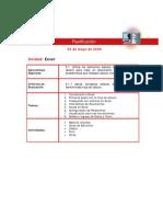 Excel - Planificación Clase 01