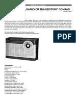 Set Educativ Radio Cu Tranzistori Conrad
