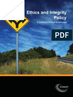 Ethics and Integrity Policy