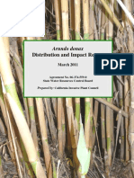 Arundo Distribution and Impact Report_Cal-IPC_March 2011