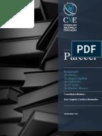 conselho nacional de educação 2013_parecer 'integração no ensino da língua inglesa no currículo do 1º ciclo' [dez].pdf