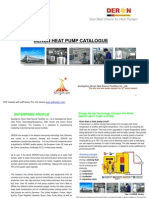 Deron Heat Pump Catalogue