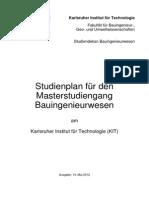 Studienplan Master Bauingenieurwesen 2012-05-14