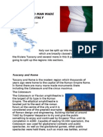 Natural and Man Made Features of Italy