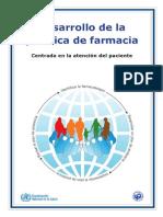 Desarrollo de La Practica de La Farmacia