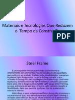 Slide de Materiais e Construção