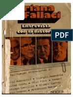 Fallaci Oriana - Entrevista Con La Historia