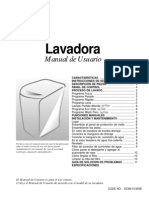 Manual Lavadora Samsung