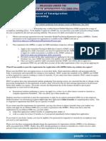 Information Sheet on Visa Requirements for International Nursing Students July 2010
