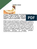 Parmigiana Al Pesto Rosso