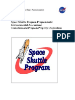 NASA Shuttle Retirement Enviromental Impact Report