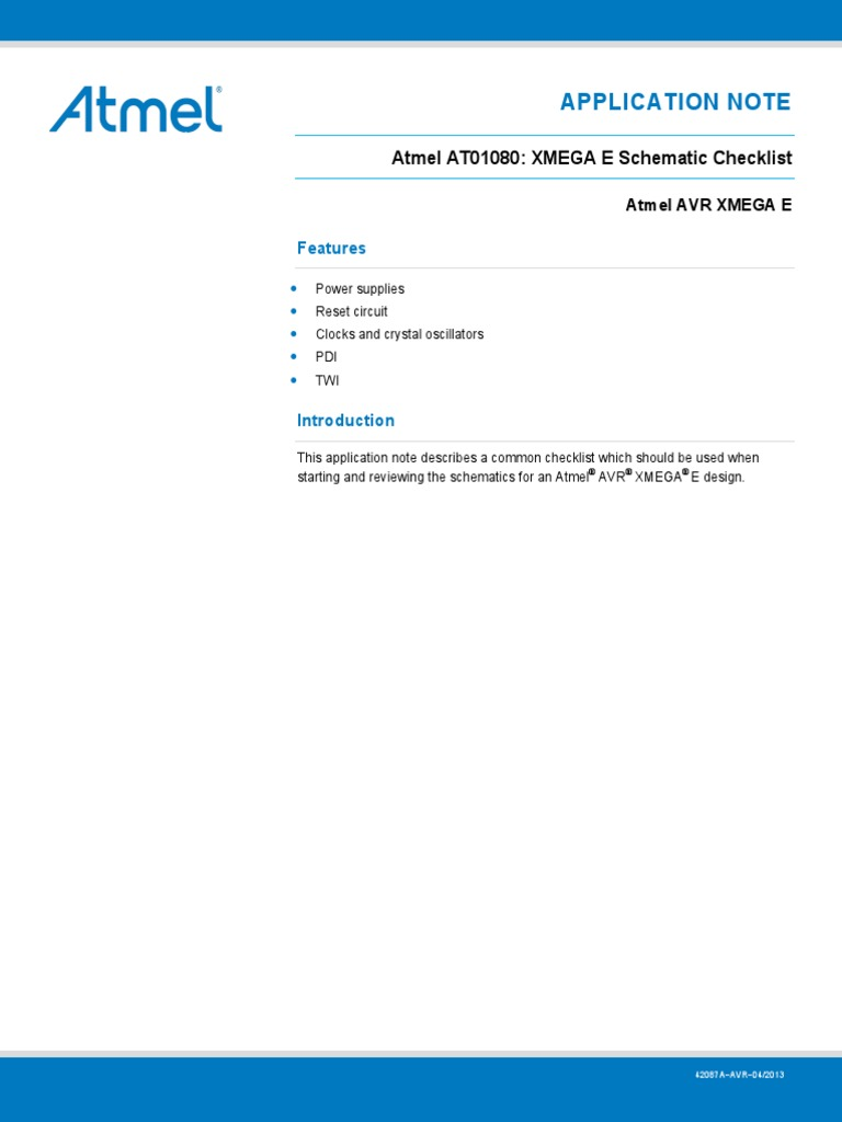 xmega d schematic checklist – readingrat, Wiring schematic