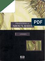 Palestras de 'Abdu'l-Bahá - Londres1911