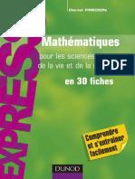 81020740 Mathematiques Pour Les Sciences de La Vie Et de La Sant