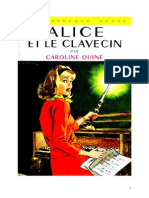 Caroline Quine Alice Roy 21 BV Alice Et Le Clavecin 1944