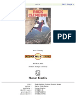 Phil Watts - Rock Climbing (Outdoor Pursuits Series)
