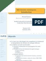 Www.espace-etudiant.net - Introduction Methodes Sismiques - Bernard Giroux