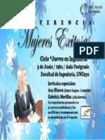 Afiche Mujeres Exitosas