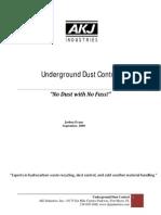 Underground Dust White Paper