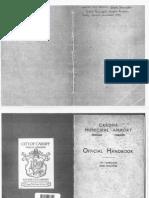 Official Handbook 1937