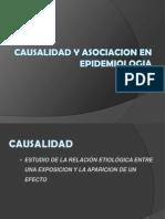 5 Causalidad y Asociacion en Epidemiologia Clase No 5