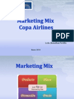 Marketing Mix Copa Airlines