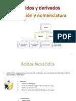 ácidos y derivados