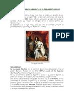 tema 1 3 - absolutismo y parlamentarismo