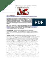 Chávez no era indispensable, pero sí un factor determinante - Modesto Emilio Guerrero.doc