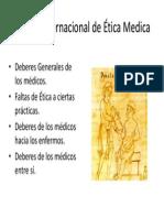 Código Internacional de Ética Medica