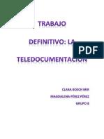 TRABAJO DEFINITIVO Teledocumentacion