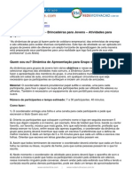 Dinamicas Para Jovens Esoterikha.com Redemotivacao.com.Br