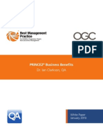 Prince2 Business Benefits White Paper January2010