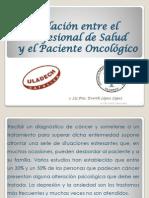 Psicologia y paciente oncológico