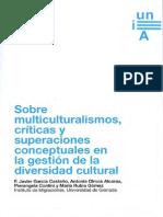 Sobre multiculturalismos, críticas y superaciones conceptuales en la gestión de la diversidad cultural