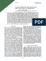 Hollander, psicoanálisis, represión, Argentina