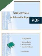 Normativas en Educacion Especial LEY 19.284