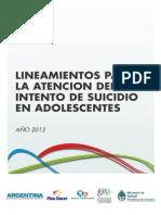 2012 08 31 Atencion Intento Suicidio