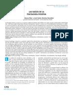Cabanas E. y Sanchez J.C. (2012). Las Raices de La Psicologia Positiva
