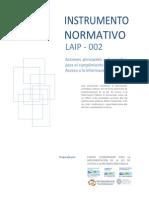 Instrumento Normativo No. 2