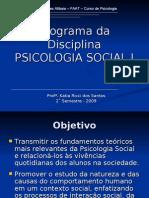 1588_Programa Psicologia Social I