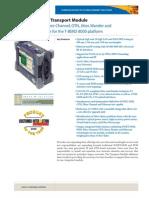 T-BERD 8000 Transport Module Datasheet