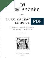 Ambelain Robert - La Magie Sacree Ou Livre d Abramelin Le Mage