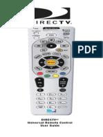 Directv Rc65 User Guide