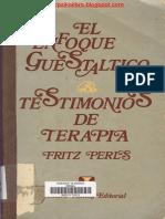 Fritz Perls - El Enfoque Guestaltico Testimonios de Terapia 2