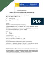 DEPOSITO A PLAZO - Fórmulas y Ejemplos 270412