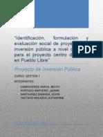 Informe PIP Centro de Salud en Pueblo Libre 2da Parte Final Completo 2