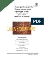 lodos emulsionados