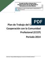 Plan de Trabajo del Comité de Cooperación con la Comunidad Profesional